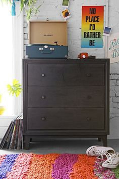 3-Drawer Box Dresser #urbanoutfitters