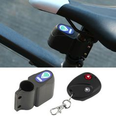 Anti-theft Vibration Alarm for bicycle.