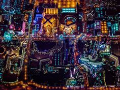 Famous photographer Vincent Laforet takes amazing night photos of urban cities, and his amazing photos of Las Vegas are no exception. Laforet, who has also photographed New York similarly, turns Sin City into an incredible neon metropolis surrounded by a desert of darkness.