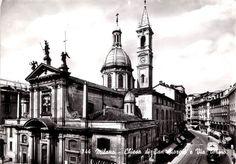 #Milano anni '50 via Torino e la chiesa di San Giorgio.  Milano da Vedere #alpascia