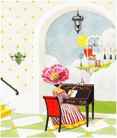 The Writing Desk Limited Edition Wall Print, $265