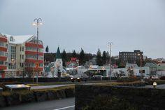 small town on the coast #iceland #coast #town #fjordur