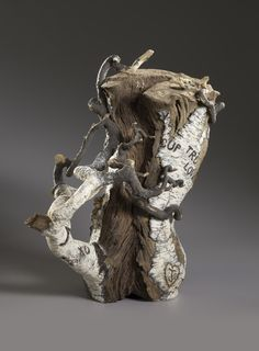 From Jason Jacques Gallery, Eric Serritella, Tree of Love (2014), Stoneware, 39 × 29 × 13 in