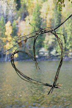 Twig heart.