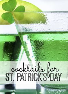 From the ShamROCK to the Blarney Mary - we're sharing the recipes of our favorite St. Patrick's Day cocktails! You don't have to be Irish to enjoy these delicious drinks!
