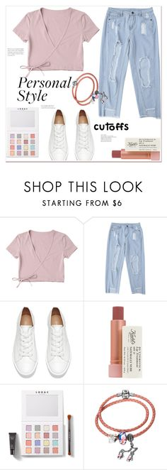 """""""Personal style: cutoffs jeans"""" by mycherryblossom ❤ liked on Polyvore featuring Kiehl's and LORAC"""