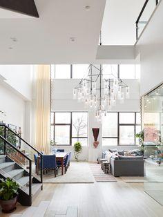 high ceilings, beautiful design