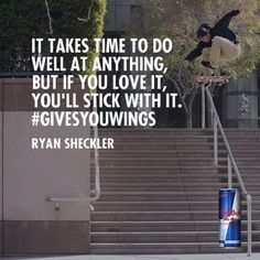 "@shecks's photo: ""Just finished my Red Bull commercial!  Pumped!    World of Red Bull @redbull #givesyouwings @redbullskate  http://youtu.be/38JB5jOMlNc"""