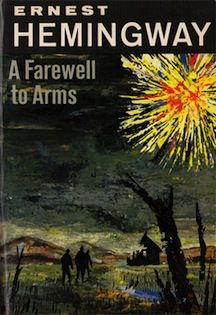 SLOVENIA: A Farewell to Arms by Ernest Hemingway / Souvenir Chronicles -- This book will change the way you think. It will break you, not with a fictional account, but a tragic reality of war and the cost of love. Ernest Hemingway, I Love Books, Great Books, Books To Read, My Books, Classic Literature, Classic Books, A Farewell To Arms, Cover Books