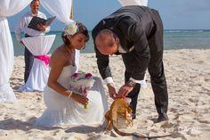 #Karibik  #Ring #Strand #Liebe