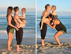 Lesbian Couple's Side-By-Side Pregnancy Photos Encourage LGBT Couples To Start Families Cute Lesbian Couples, Lesbian Love, Fotos Goals, How To Pose, Cute Gay, Gay Couple, Tumblr, Pregnancy Photos, Poses