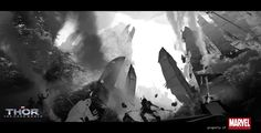 Thor: The Dark World - flaptraps art.by richard anderson