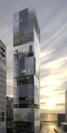 486 mina el hosn tower, beiruit by lan architecture