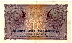 Image result for czechoslovakia banknotes with stamps
