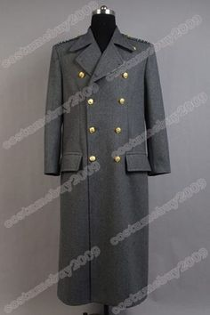 Torchwood Doctor Captain Jack Harkness Jacket Wool Coat Costume Grey Ver-in Costumes from Apparel & Accessories on Aliexpress.com | Alibaba Group