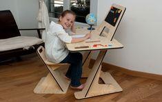 homework desk, kids desk furniture, modern kids furniture, modern wood desk, modular desk design, wooden desk design