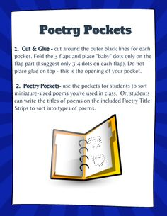 Have you been wanting to try interactive journals, but just don't know where or how to begin? Get started this year with these entries for poetry, and make this year more engaging for your students. This template is editable on TeacherSherpa, and you can add more pages too!