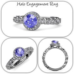 Experience lavish quality at an affordable price. - 30 Days Return #halo #engagementring #finejewelry #diamond #gift #trijewels
