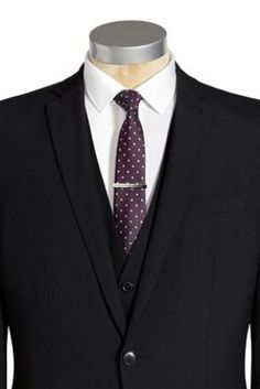 Purple spotted tie from Next Photoshop Design, Black Suits, Man Stuff, Novelty Gifts, Modern Man, Next Uk, Men's Style, Mens Fashion, Gift Ideas