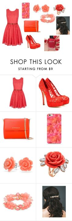 """hj"" by aiste-mini on Polyvore featuring Yumi, Dolce&Gabbana, Givenchy, Bling Jewelry, Mawi, Nine West and Zoya"