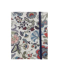 Mabelle Print Medium Fabric Ruled Notebook, Liberty London. Shop more Liberty print stationery from the Liberty London collection online at Liberty.co.uk