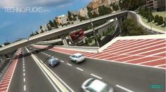 Video: Tehran Sadr Multilevel Expressway - 3D Animation Main Intersections