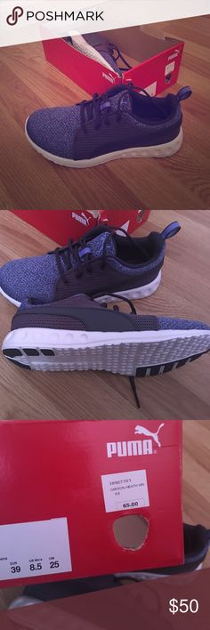Brand New Puma Sneakers Beautiful sneaker and very comfortable!! Has the comfort soft foam inside shoe. New in box! Puma Shoes Sneakers
