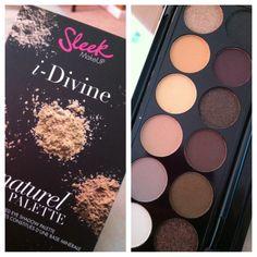 Sleek Makeup Au Naturel i-Divine Palette
