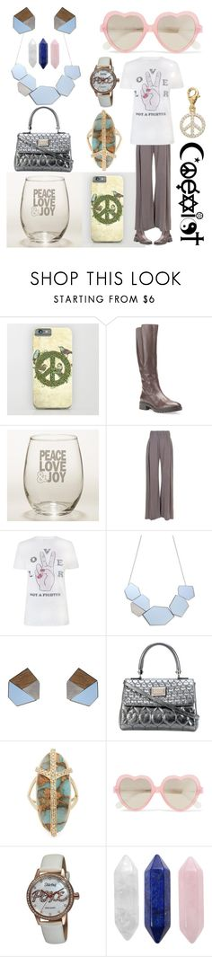"""Please, Coexist."" by creation-gallery ❤ liked on Polyvore featuring Geox, Cost Plus World Market, Sweaty Betty, Zoe Karssen, Philipp Plein, Jacquie Aiche, Cutler and Gross, Stührling, CO and TFS Jewelry"