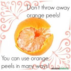 Orange peels have many beauty uses for glowing skin. If you're smart, save orange peels instead of discarding them and use them to brighten your skin.