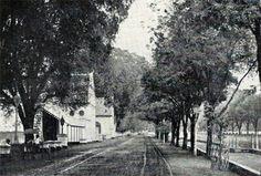 Rijswijk te Batavia circa 1870. Sekarang Jalan Veteran Jakarta.