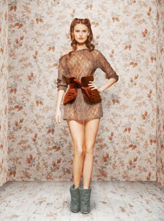 Ulyana Sergeenko Fall/Winter 2011 lookbook