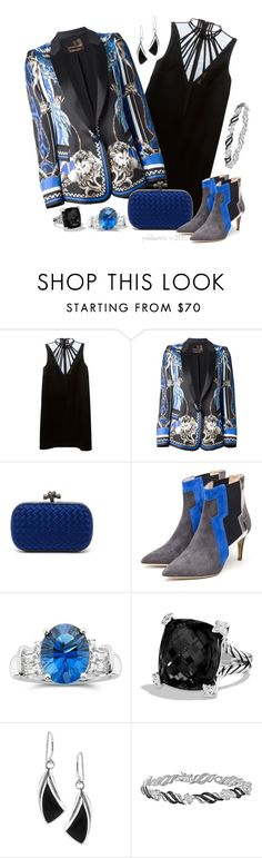 """Designer Mix ~ Cavalli, Kane, Sanderson & Bottega"" by pwhiteaurora ❤ liked on Polyvore featuring Christopher Kane, Roberto Cavalli, Bottega Veneta, Rupert Sanderson and David Yurman"