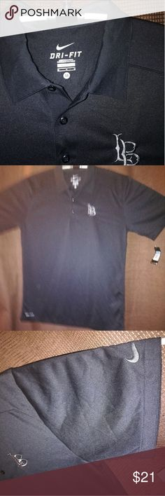 M - Nike Golf Short-Sleeve 3Button Polo New. Dri-FIT moisture managenent technology. Self fabric Collar. Cool B ack matetial.Feels great in a breezy day. All offers will be considered. Please post any questions or comments.Will reply asap. Nike Shirts Polos