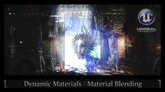 Unreal Engine 4 - Dynamic Materials/ Material Blending Tutorial