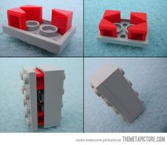 Clever Lego Trick – A cool Lego hack that makes it able to get two bricks to hold together with their backs facing each other.