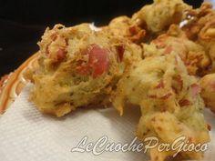 Sfizi fritti pistacchio e mortadella, facilissimi!