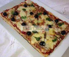 Les secrets de cuisine par Lalla Latifa - Feuilletée à la garniture pizza - Les secrets de cuisine par Lalla Latifa