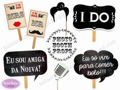 Kids&Babies Design: adereços para fotocabine / photo booth props