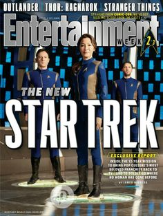 Star Trek: Discovery on the cover of Entertainment Weekly.