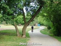 Guelph bike trail Stuff To Do, Things To Do, River Park, Bike Trails, Mountain Biking, Ontario, Paths, Golf Courses, Bicycle