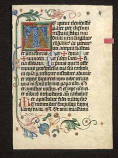 Manuscript | V&A Search the Collections