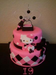 Pink & Black Hello Kitty