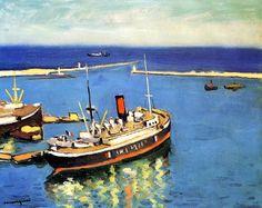 Blue Waters, Algiers / Albert Marquet - 1942