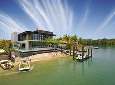Hideaway Island House by Frank Macchia in Australia