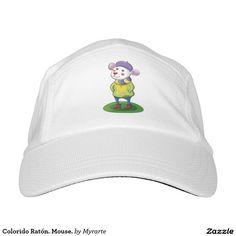 Colorido Ratón. Mouse. Regalos, Gifts. #gorra #hat
