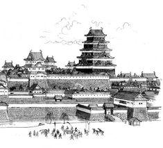 江戸城 EDO castle,  real japan, japan, japanese, castle, japanese castle, fortress, osaka, tokyo, kyoto, himeji, bitchu matsuyama, takeda, tour, trip, travel, guide, adventure, epxlore, plan, architecture hirosaki http://www.therealjapan.com/subscribe/