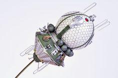 Model of Vostok 1 by Anthony Papadis (Fujimi 1/72)