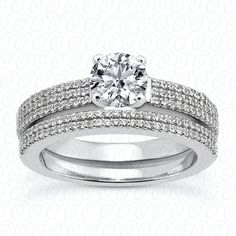 NEW DIAMOND ENGAGEMENT SET. Find it at Hayman Jewelry Co.