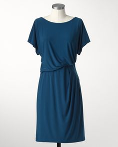 Elegant pleated dress #ColdwaterCreek
